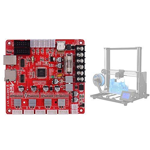 Placa base de control A1284-Base V1.7 Placa base para Anet A6 Plus Placa base Impresora 3D Placa base Atmel Master IC 24V