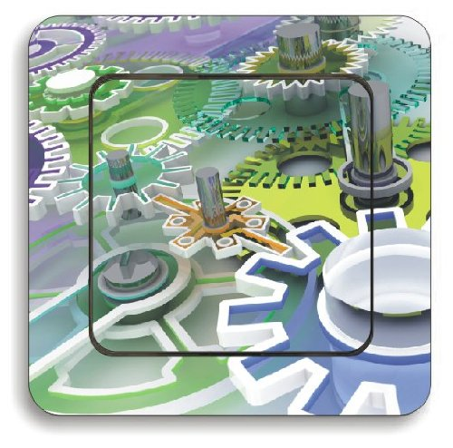 Pegatina vinilo impreso para interruptor pared, ref: pk36