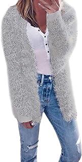 Sunhusing 2018 Women's Fashion Autumn Winter Long Sleeve Cardigan Casual Jacket Coat