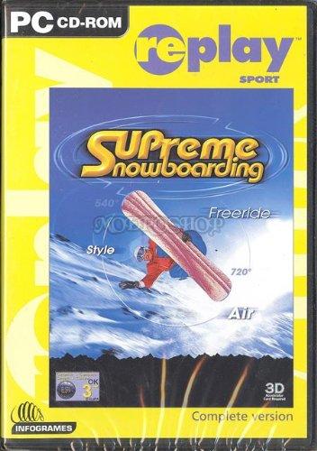 Supreme snowboarding replay - PC - UK