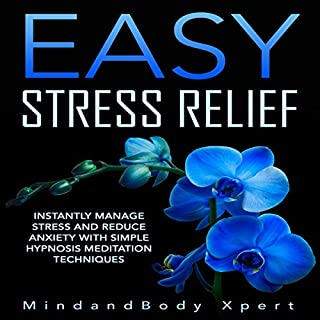 Easy Stress Relief audiobook cover art