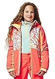 O'NEILL Pg Allure - Chaqueta de Nieve para niña, Niñas, 9P5080, Red AOP W, 140