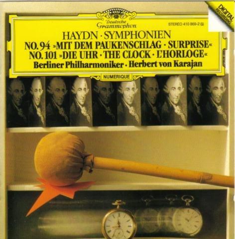 Haydn: Symphonien No. 94  - Mit dem Paukenschlag & No. 101 - Die Uhr