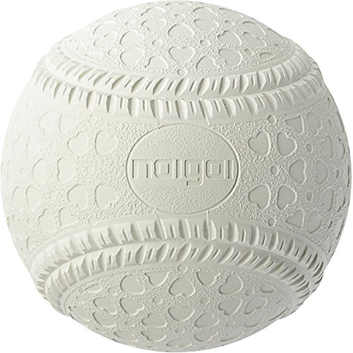 内外ゴム(NAIGAI) 軟式 野球 ボール 公認球 M号 (一般・中学生用) 1ダース MNEWD