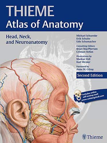 Head, Neck, and Neuroanatomy, 2e (THIEME Atlas of Anatomy)