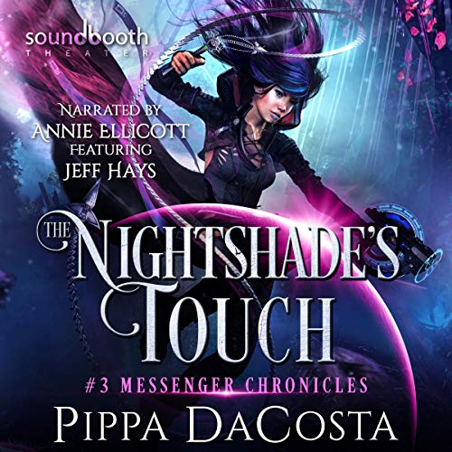 Couverture de The Nightshade's Touch: A Paranormal Space Fantasy