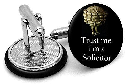Trust Me I'm A Notaire boutons de manchette – Livré dans pochette cadeau