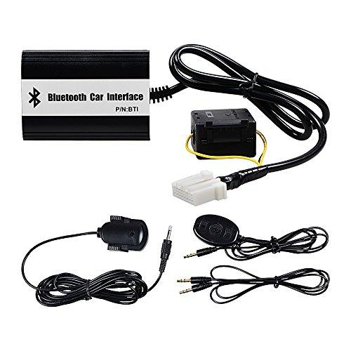 Car Stereo Bluetooth AUX Adapter Kit Compatible with Mazda 2 3 5 6 323 Mazda6 Miata MX5 SPD Protege CX7 Tribute Premacy MPV BT-50 B-Series Pickup