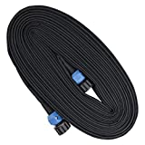 FLORIAX Heavy Duty Soaker Hose 50 FT Dripping Water Hose Saves 70% Water Consistent Drip Throughout Hose Lightweight Garden Hose Perfect for Garden Flowers Beds