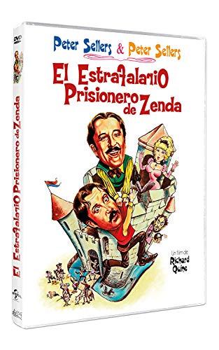 El estrafalario prisionero de Zenda [DVD]