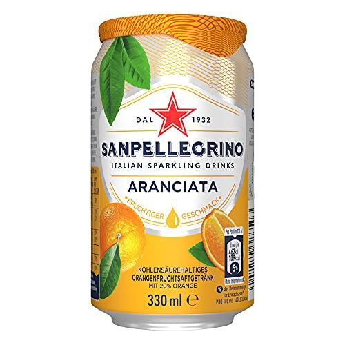 Sanpellegrino Orangen Limonade Aranciata EINWEG (1 x 330 ml)