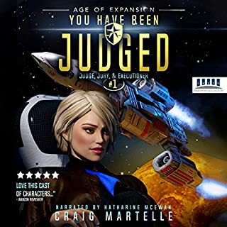 You Have Been Judged: A Space Opera cover art