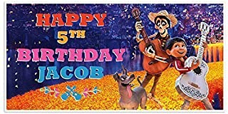 disney coco birthday banner