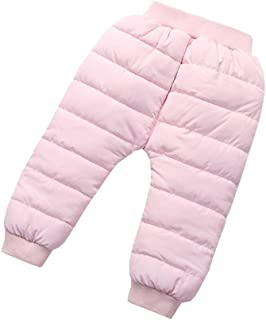 Fairy Baby Toddler Boy Girl Winter Fleece Long Pant Solid Bottoms Kids Casual Jogger