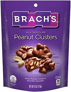 Brach's Milk Chocolate Peanut Clusters, 6 Oz (Pack Of 8)