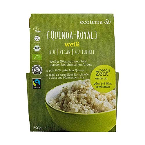 ecoterra Ready to Eat: Quinoa Royal weiß vorgekocht | 250g