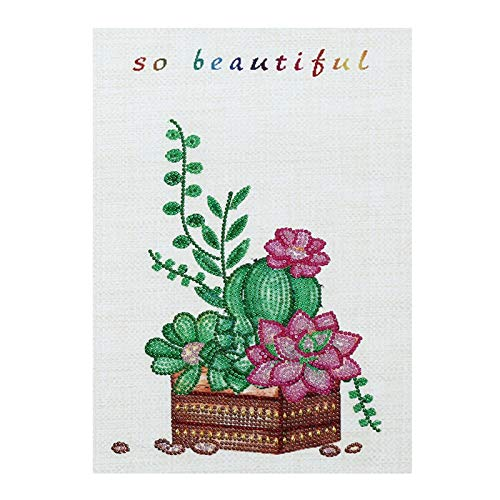 Fasclot Special Shaped Diamonds Painting DIY 5D Partial Drill Cross Stitch Kits Crystal Home & Garden Diamond Painting