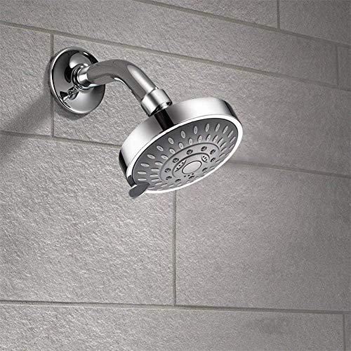 Douchekop, Pressure Badkamer 4 inch 5-instelling Verstelbare douchekop, Krachtige stimuleren Spray Bath geschikt for alle Douche Typ WKY