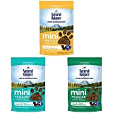 Natural Balance L.I.D. Limited Ingredient Diets Mini Rewards Dog Treats Variety Pack, Duck Formula, Chicken Formula, Lamb Formula, 4 Ounce Pouch (Pack of 3)