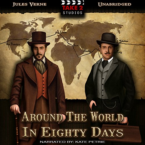 Couverture de Around the World in 80 Days