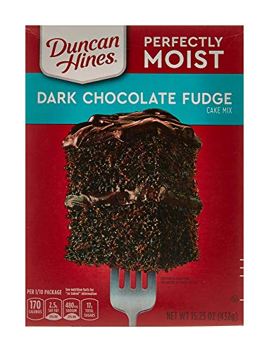 Duncan Hines Dark Chocolate Fudge Cake Mix