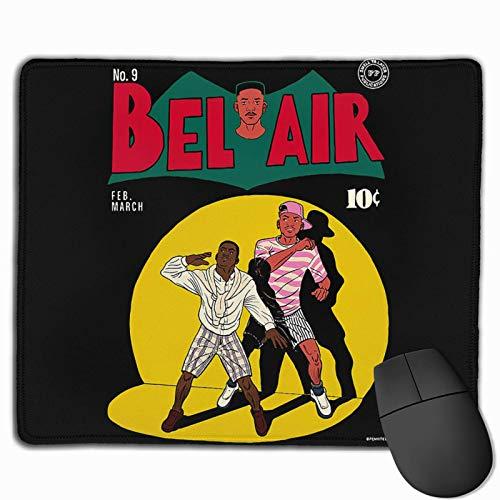 Lingassassin, der französische Prinz von Bel Air Logonon-Slip-Mauspad für persönliche Home-Office-Reisespiele mit Computer und Laptop