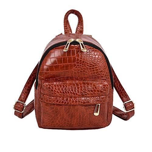 Damen Rucksack Handtaschen Weant Krokodilleder Schultaschen Anti-Diebstahl Tagesrucksack Umhängetasche Handtasche Mädchen Schulrucksäcke Sporttasche Reiserucksack Backpack für Schule Reise Arbeit