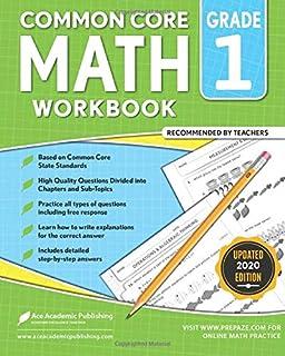 1st Grade Math Workbook: Common Core Math Workbook