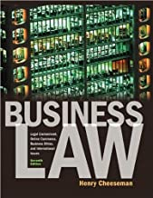 cheeseman business law 7th edition