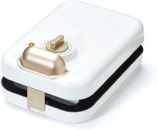 aasdf Sandwich Maker Grille-Pain Panini Machine à crème glacée Sandwiches remplis Profonds antiadhésifs (Couleur: Blanc)