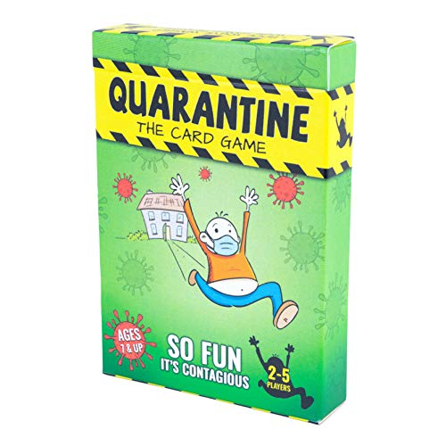 Quarantine Card Game - Family-Friendly Party Games - Card Games for Adults, Teens & Kids for 2 to 4 Players in This Fun Game Deck