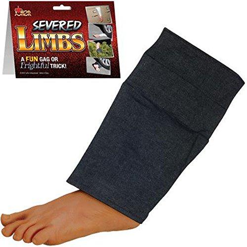 Surprising Fake Realistic Pants Leg & Foot - Halloween Prop