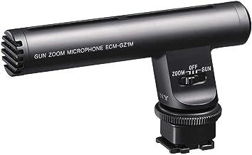 Sony ECMGZ1M Gun / Zoom Microphone (Black)