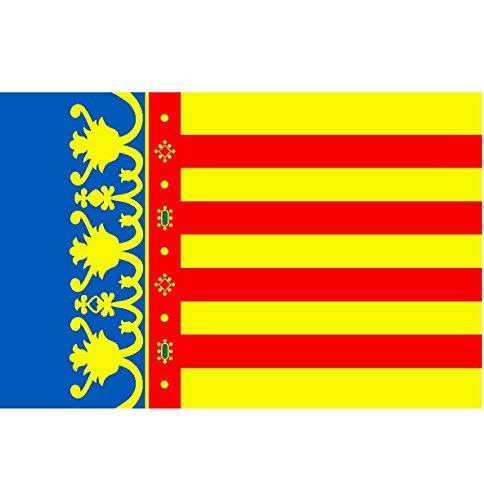 Durabol Bandera de Comunidad Valencia - Valenciana 150*90 cm