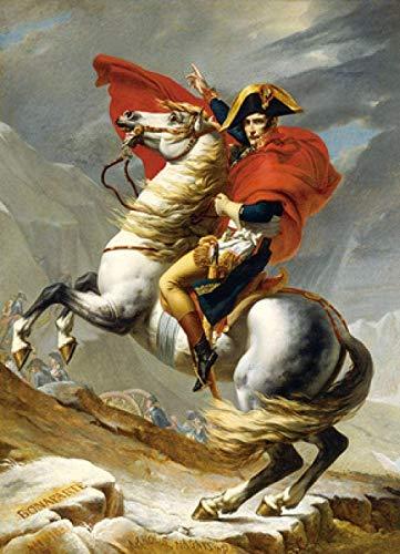 LLYMGX Puzzle Rompecabezas De Madera De 1000 Piezas, Rompecabezas De Figuras Históricas, para Ensamblar Juguetes para Adultos Regalos para Niños - Napoleón