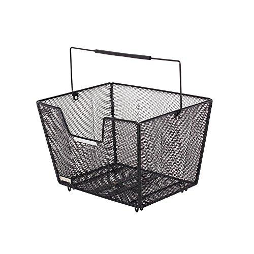 Fietsmand Fine XL High Comfort zw; 40 x 30 x 25 cm m. Flex.-systeem fijnmazig