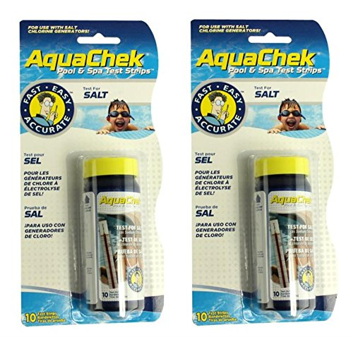 Find Discount AquaChek 561140A Salt Water Swimming Pool Test Strips - White, 1-Pack (2 New Version)â...