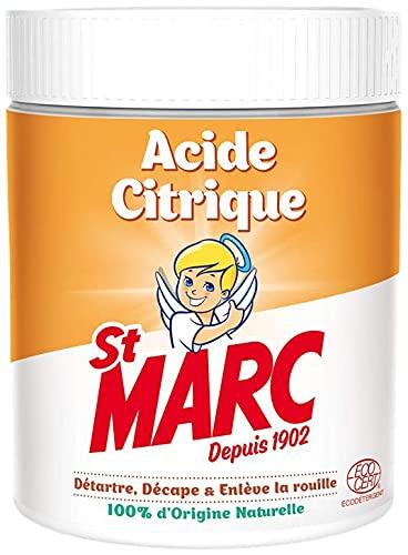 St Marc Acide Citrique Nettoyant Multi-Usage 100% d'Origine Naturelle 500 g