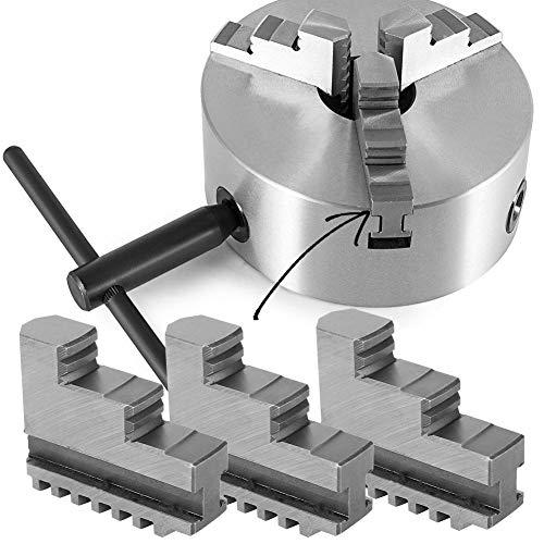 Innenbacke, 3 Stk. Innenbacke 20CrMnTi Selbstzentrierender Spannfutter CNC-Werkzeugmaschine für K11-160 6-Zoll-Drehfutter