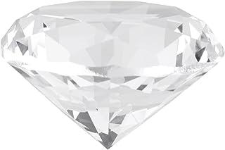 BLLBOO Piedra de Diamante sintético - Piedra de Cristal sintética Diamante de imitación Grande Cristal Transparente Joyas ...