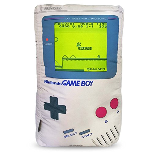 Almofada Geek Personalizada Game Boy ''Sleep Yes or No''.