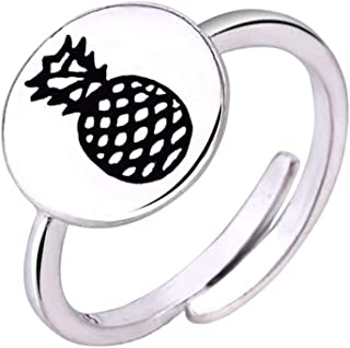 Handmade Jewelry Trending Gift for Girls Red Coral Sterling Silver Overlay Ring Size 8.25 US
