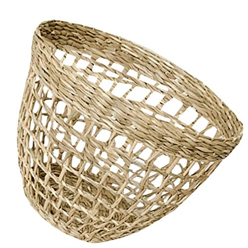 HEALLILY 1 Pc Wicker Basket Willow Storage Basket Willow Handwoven Basket for Living Room Bedroom Dining Room
