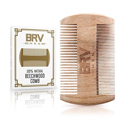 Natural Beechwood Beard Comb