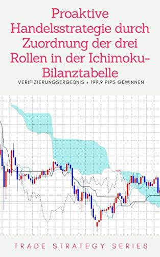 Proaktive Handelsstrategie durch Zuordnung der drei Rollen in der Ichimoku-Bilanztabelle: Verifizierungsergebnis 199,9 Pips gewinnen (German Edition)