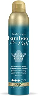 OGX Bodifying + Bamboo Fiber-Full Sugar High Tousle Spray, 6 Ounce