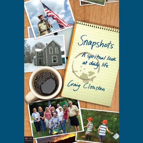 Snapshots audiobook cover art