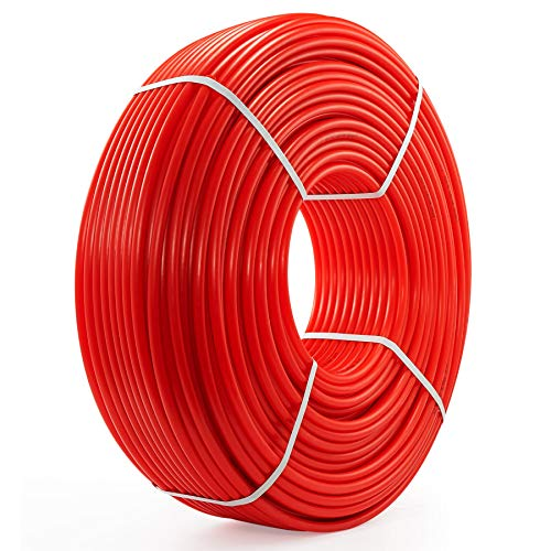 CO-Z 1/2 Inch PEX Tubing for Water HVAC More, 1000ft Coil of PEX Hose for Plumbing and Radiant Heat Tubing, PEX Water Pipe Line for Home Improvement Camper or RV Sewer Hose, PEX-B, Red