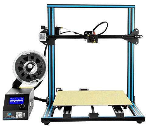 Comgrow Stampante 3D CR-10 S5 Filament Monitor with Dual Z Lead Screws 500x500x500mm