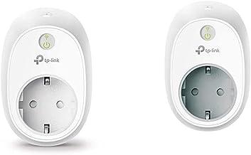 TP-Link HS100 + HS110 - Enchufe Inteligente + inalámbrico con monitorización de energía, para controlar Sus Dispositivos D...